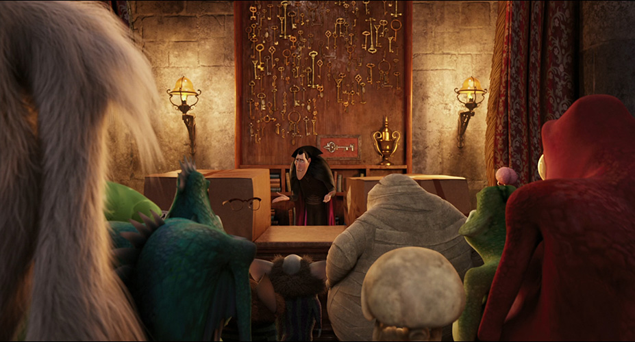 Hotel Transylvania Lobby Reception Area The Various